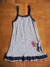 @ TUTTI PALETTI @ alta qualità vestito con spalline BLU-BIANCO marinelook tg.