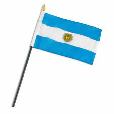 "4""x6"" Argentina Miniature Desk & Table Flags Flag"