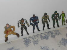 Group of Vtg. Sci-Fi / Futuristic Pilots? Soldiers? Police? Action Figures