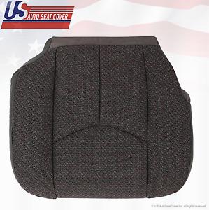 2006 Chevy Silverado 3500 Driver Bottom Replacement Cloth Seat Cover Dark Gray
