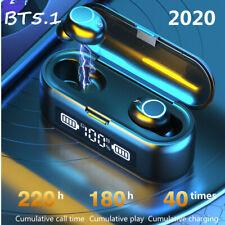 bluetooth 5.1 TWS Earbuds Stereo Headphones Wireless Waterproof Headset Earphone