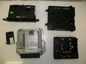 Renault Latitude 2011 2.0 DCI LHD Zündung Kit Motor Kontrolle ECU Set 237100966R