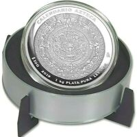2019 Mexico 1 Kilo Silver Aztec Calendar Box & COA 500 MINT (32.15 oz)