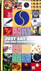 Just Say Sire - Various Artists, The Sire Records Story. 3 x CD Box Set + DVD.
