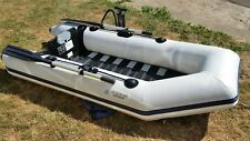 Inflatable dinghy boat zodiac bombard rib fishing rowing sailing tender folding