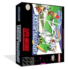 Bugs Bunny Rabbit Rampage Replacement SNES Box Art Cover + Game Case (No GAME)