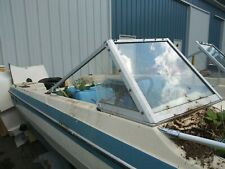 COMPLETE WINDSHIELD FROM A 1979 GLASTRON 156 TRI HULL BOAT PARTING OUT BOAT