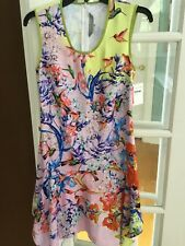 NWOT Clover Canyon Floral Kerchief Dress Small