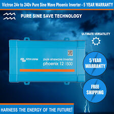 Victron High Quality Phoenix 24v to 240v - 500VA Sine Wave Inverter