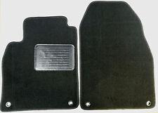 Saab 9-3 Convertible Black Carpet Custom Fit Floor Mats 4 Pc set fits 2004-2012