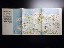 RARE supplément Spirou Carte mi-chemin 1965