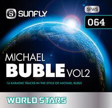 MICHAEL BUBLE VOL 2 SUNFLY KARAOKE CD+G