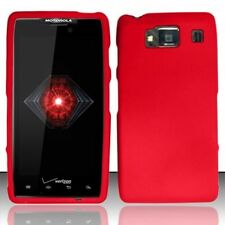 For Motorola Droid RAZR HD XT926 Rubberized HARD Case Snap On Phone Cover Red
