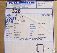 326 UNIVERSAL MOTOR 1/7 115V  1050RPM