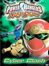 Power Rangers - Ninja Storm: Cyber Clash (DVD, 2003) Rare New in Wrap Free Ship