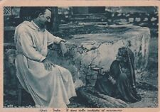 * INDIA - Ajmer - The gift of the old woman to the missionary 1938