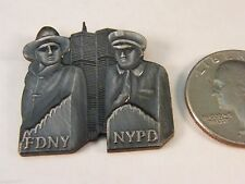 NEW YORK FIRE DEPARTMENT POLICE TWIN TOWERS 9-11 911 PIN