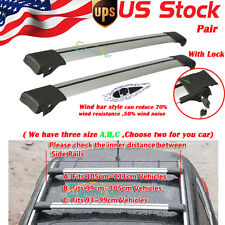 For Mercedes Benz BMW Ford VW Audi Car Top Luggage Cargo Cross Bar Roof Rack