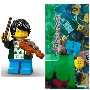 Lego 71029 #2 Violin Kid 🎻 Minifigure CMF NEW Minifig Collect Series 21 Rare