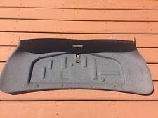 OEM BMW E39 5 Series Rear Trunk Lid Trim Panel Carpet Gray Cover 8186808