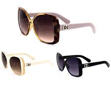 DG Eyewear Women's Designer Plastic 100% UV400 Sunglasses