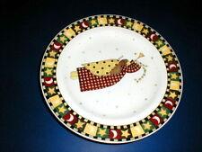 Sakura GATHERING OF ANGELS Horn Christmas Salad Plate