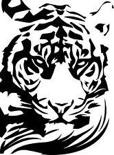 Tiger Vinyl Decal Sticker for Car/Truck Laptop Window Custom