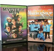 Mystery Men with Hank Azaria & Barber Shop with Ice Cube & Anthony Anderson Dvds
