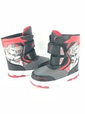 Star Wars Boys Shoes Size Small 5  Soles Kids Winter Boots no lights