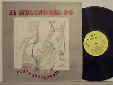 IL MULINO DEL PO disco LP 33 giri SOTTO LE LENZUOLA made in ITALY sexy cover