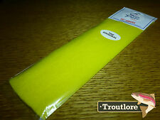 EP FIBERS YELLOW ENRICO PUGLISI - NEW FLY TYING WING & BODY MATERIAL