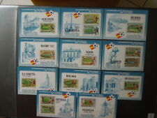 G2731    SPAIN  1982  WORLD  CUP  SOCCER  ALL  11  CITIES  11 X  S/  MNH