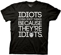 Archer Idiots Doing Idiot Things Exclusive Licensed Adult T Shirt