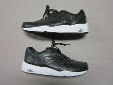 PUMA MENS TRINOMIC RARE CRACKLE PACK BLACK & WHITE SNEAKERS SHOES SIZE 10.5 NEW