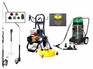 All In One Paving & Driveway Cleaning Business Package - Honda Powered