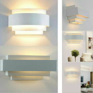 1/2/4PCS LED Wall Light Bedside Sconce Fixture Lamp Up&Down Porch Hallway Aisle