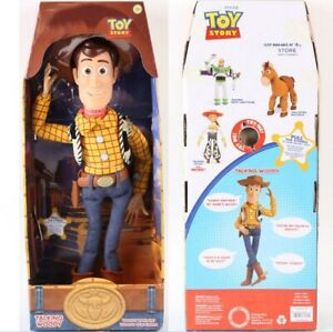 Toy Story 3 Talking Woody Doll Action Toy Figures Kids Pull String Boy Girl Toys