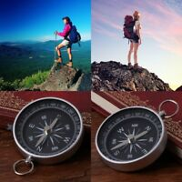 Mini Keychain Aluminum Wild Compass Camping Survival Travel Hiking Navigation