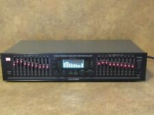 Bsr Model Eq-3000 10 Band Stereo Frequency Equalizer / Spectrum Analyzer