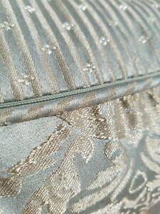 Croscill White Label Jade European Comforter Set King Jacquard Champagne Gold