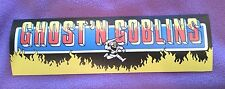 Ghost 'N Goblins marquee sticker. 3 x 10. (Buy 3 stickers, GET ONE FREE!)