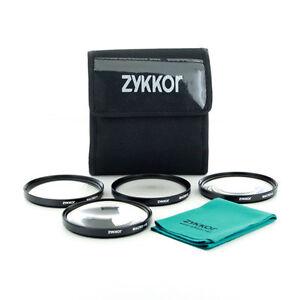 67mm Close up Macro +1+2+4+10 SLR Lens Filter Kit Set