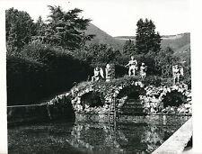 VALSANZIBIO c. 1950 - Fontaine Jardin Villa Barbarigo Padou Italie DIV 4974