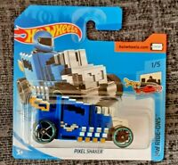 MATTEL Hot Wheels  PIXEL SHAKER  brand new sealed