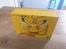 Pokemon Pikachu Special Ed Nintendo 3DS XL Console Brand New Sealed Collectors