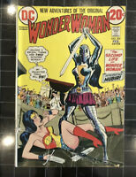 WONDER WOMAN #204 1st appearance NUBIA and Death of I-CHING January 1973