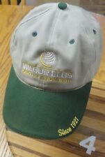 WILBUR ELLIS AGRICULTURE HAT ADJUSTABLE IN VERY GOOD CONDITION