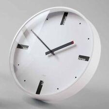 SIGEL Design Quarz Wall Clock Acto Artetempus WU112 Watch Office Quartz White