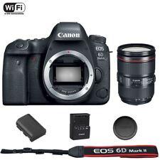 Canon EOS 6D Mark II DSLR Camera Body EF 24-105mm f/4L IS II USM Lens