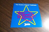 AMTRAK BROADWAY LIMITED ROUTE OF ROYAL TREATMENT STICKER DECAL